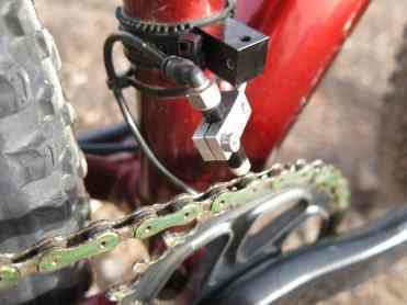 Cánula de una bici de la Titan Desert
