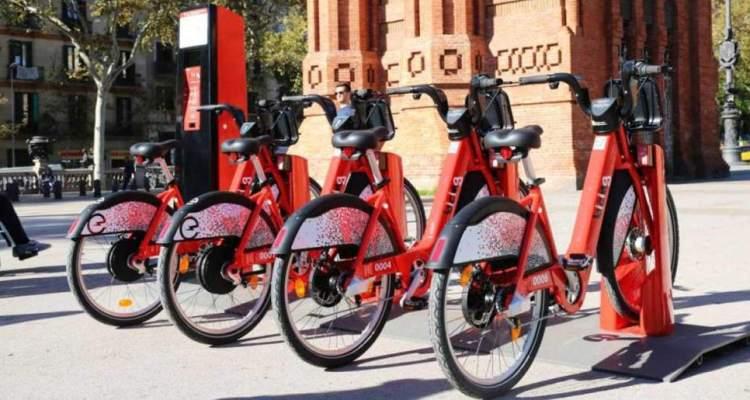 Google Maps estaciones alquiler bicicletas