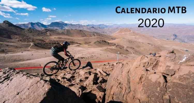 Calendario de competición MTB 2020