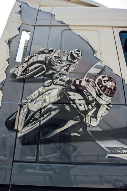 DAF Rossi decorado