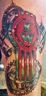 tatuaje kenworth