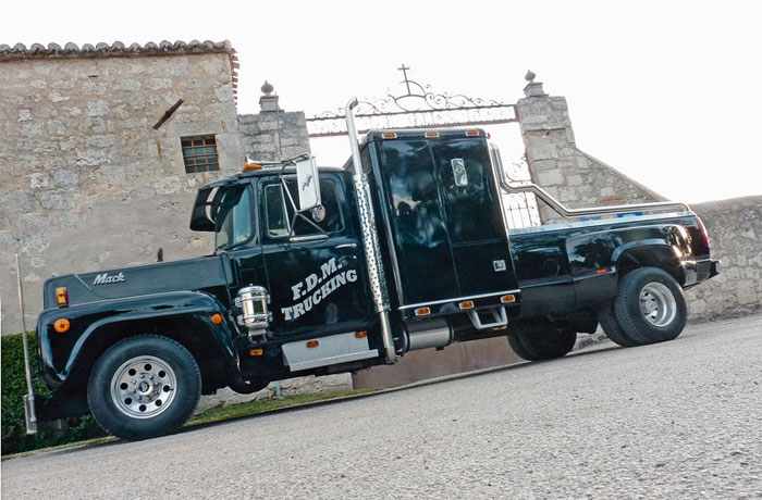 Pick-up Mack y Ford