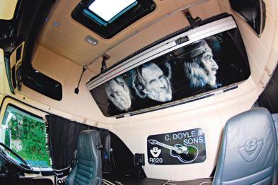 Interior Scania R620 Country Legends