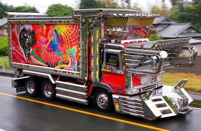 camiones raros