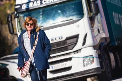 Soy camionera, Pilar Blanco