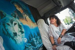 Camionera Conchi Rodríguez
