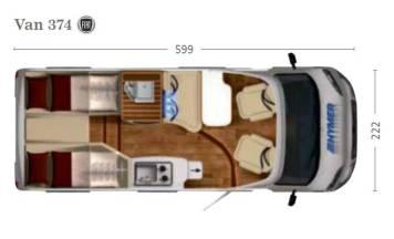 Autocaravana Hymer Van