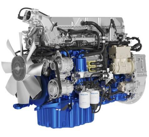 Volvo motores D11 y D13