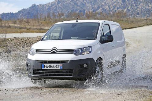Citroën Berlingo Van Driver y Worker