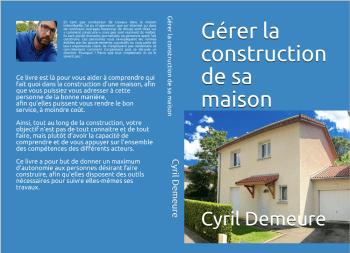 """Couverture du livre : """"Gérer la construction de sa maison"""""""