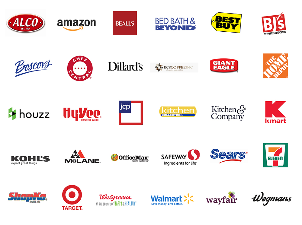 Our Retailing Partners Solofill