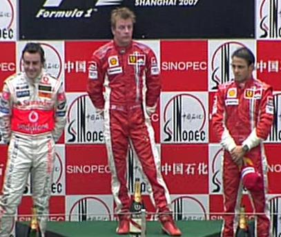 Podio GP China