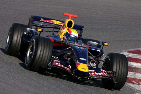 Mark Webber en su RedBull