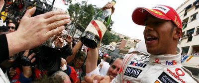 Hamilton gana en el GP de Monaco