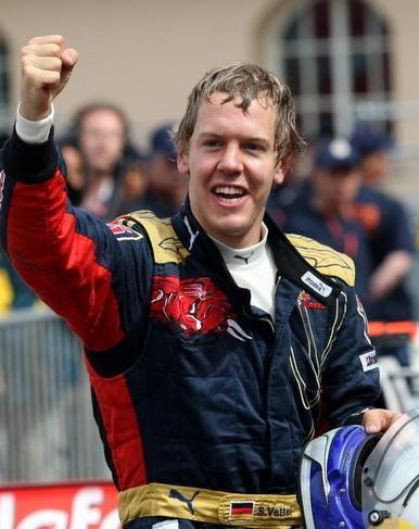 Vettel consigue sus primeros puntos en la temporada 2008