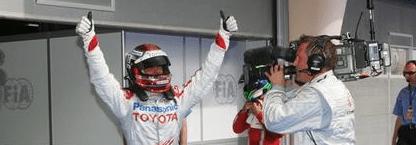 Trulli logra con esta la cuarta pole de su carrera