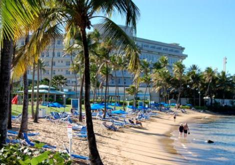 Puerto Rico  Culture vs  The Beach   SoloFriendly com Caribe Hilton Beach