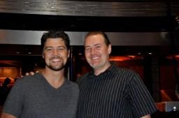 Jason Crabb und Christian Büchel 2011