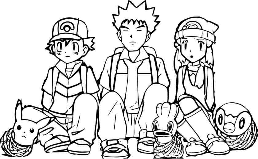 desenhos para colorir do pokémon  desenhos para