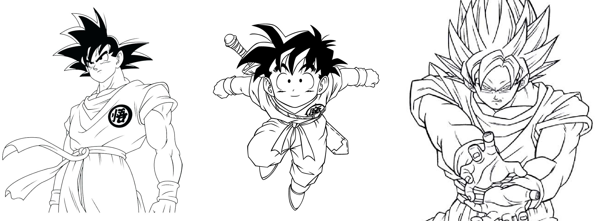 Desenhos Do Dragon Ball Z Para Colorir E Imprimir