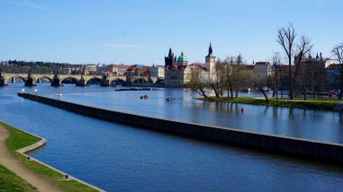 View of Charles Bridge and Old Town (Stare Mesto)