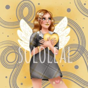 San Valentín ilustración digital