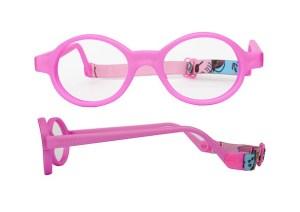 Anteojos, lentes flexibles, niñas, niños, marco de anteojos, ovalados