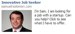 Facebook Job Ad Example 2