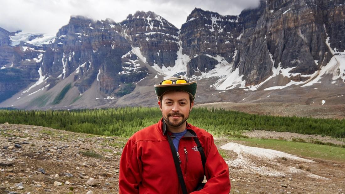 Sam Solomon in Banff National Park