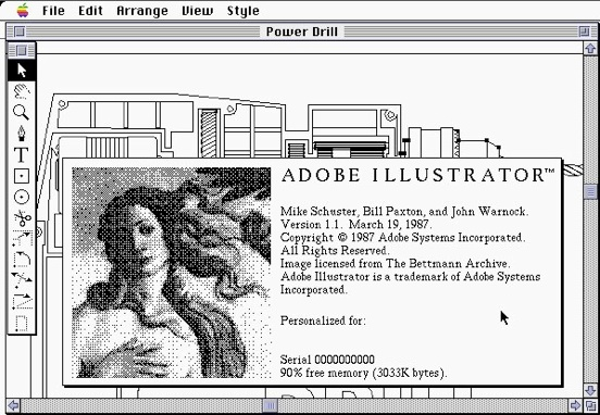 Adobe Illustrator 1.1