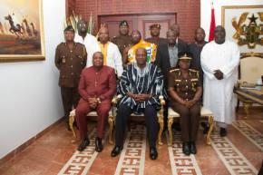 6th Prisons Service Council meet H.E. John Mahama