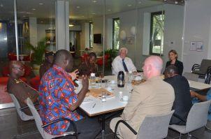 Meeting with Netherlands Ambassador