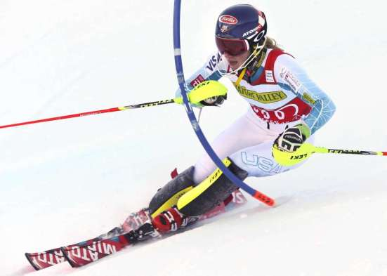 ASPEN,COLORADO,USA,28.NOV.15 - ALPINE SKIING - FIS World Cup, slalom, ladies. Image shows Mikaela Shiffrin (USA). Photo: GEPA pictures/ Wolfgang Grebien