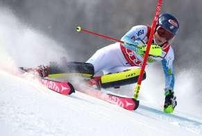 ASPEN,COLORADO,USA,28.NOV.15 - ALPINE SKIING - FIS World Cup, slalom, ladies. Image shows Mikaela Shiffrin (USA). Photo: GEPA pictures/ Wolfgang Grebien