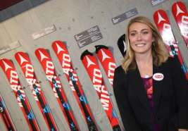 ALTENMARKT,AUSTRIA,05.OCT.15 - WINTERSPORTS - Atomic Racing Media Day. Image shows Mikaela Shiffrin (USA). Photo: GEPA pictures/ Harald Steiner