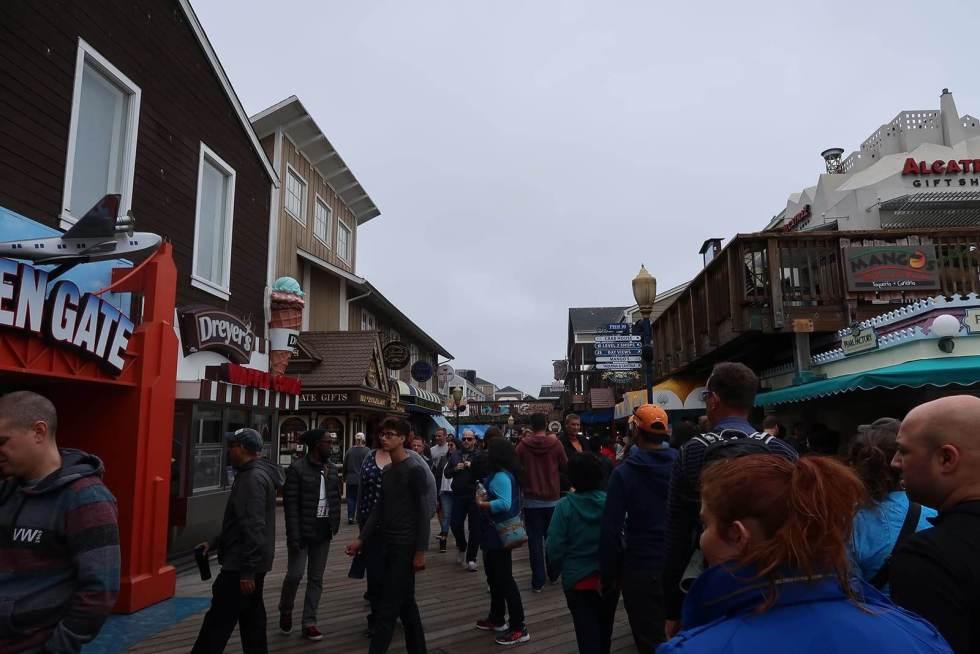 Pier 39 Gehweg