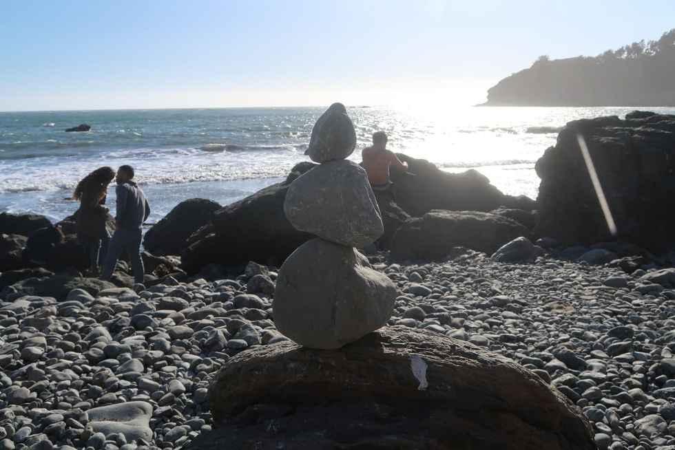 Muir Beach Steinfigur