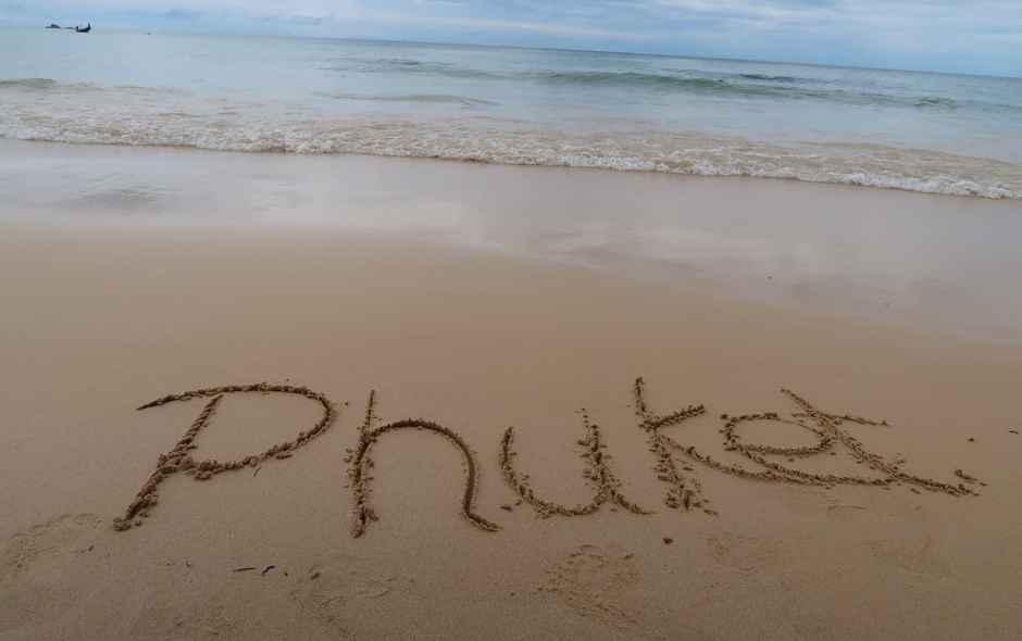 Versteckter Strand im Norden Phukets