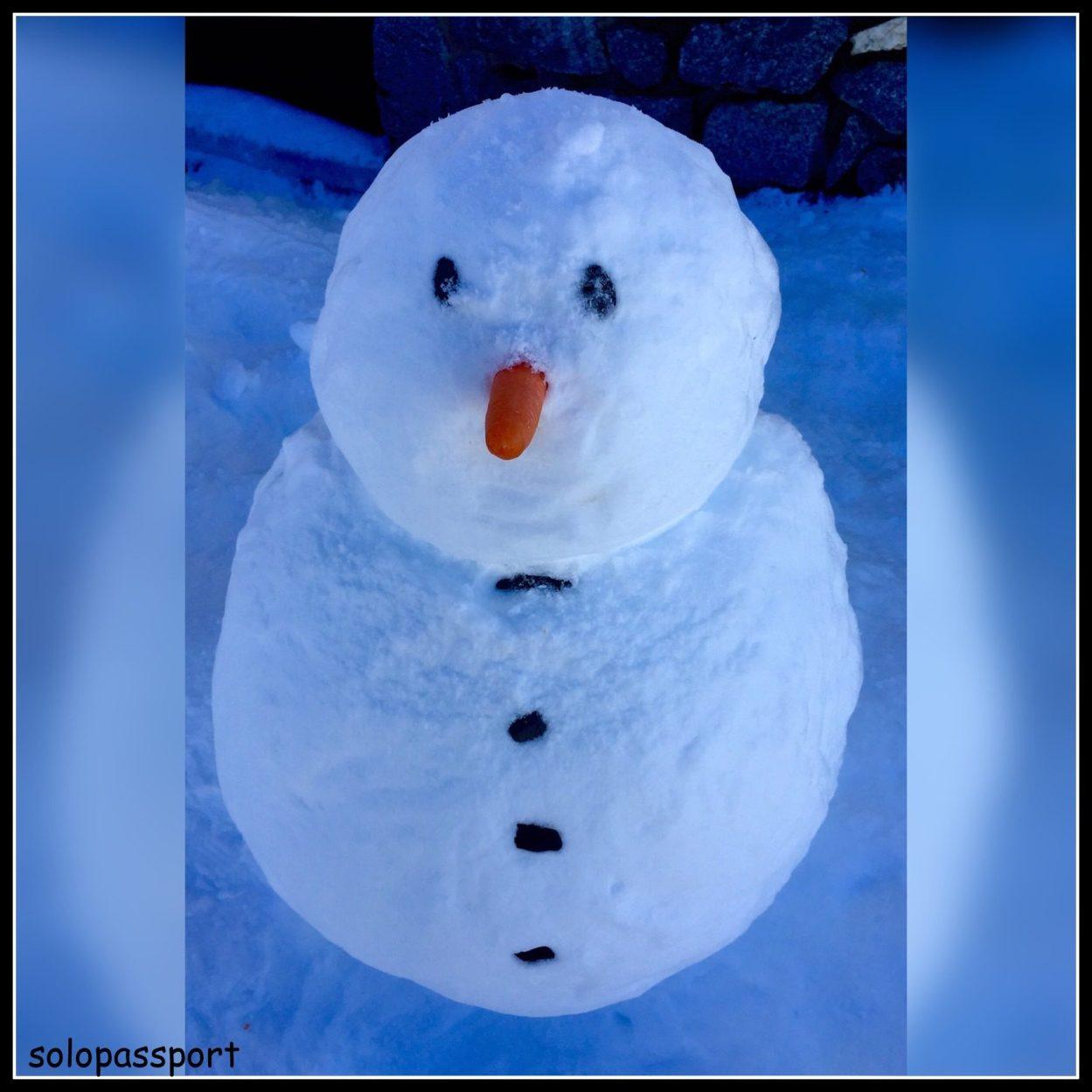 Snowmen fall from heaven.... unassembled!