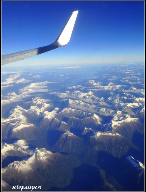 My first view of Queenstown