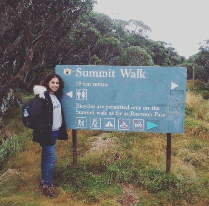 Entry to Summit Walk