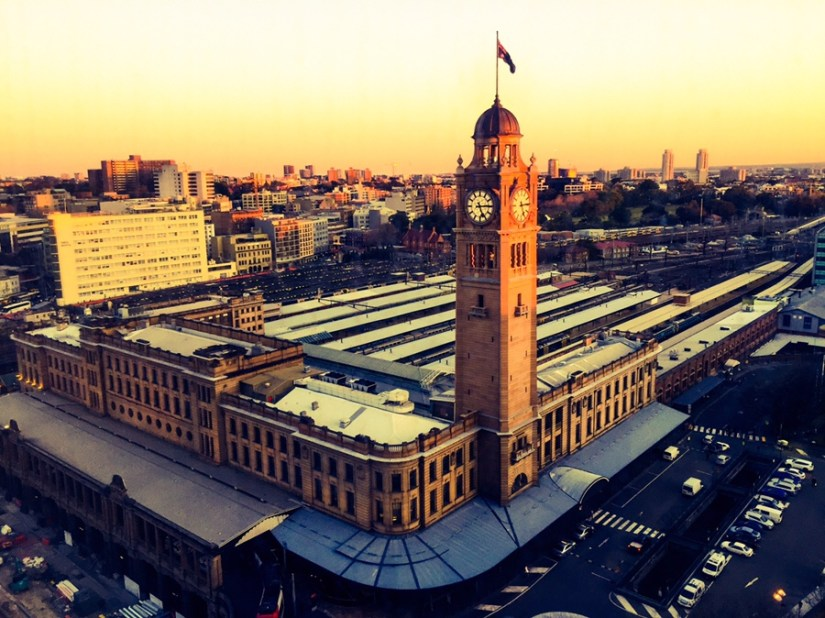 Central train stations Sydney