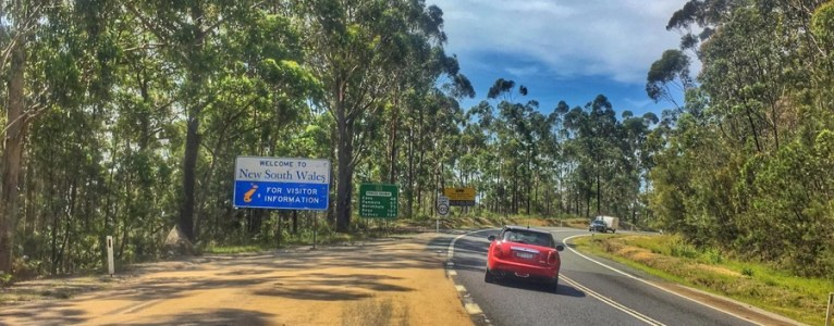 Road trip from Sydney to Lakes Entrance