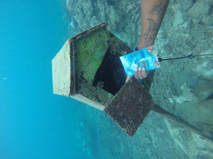 Underwater working post office in Vanuatu