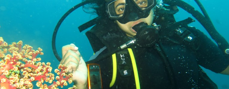 Wreck diving at Tulamben (Bali)