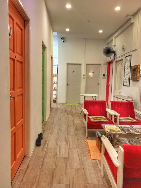 Accommodation corridor