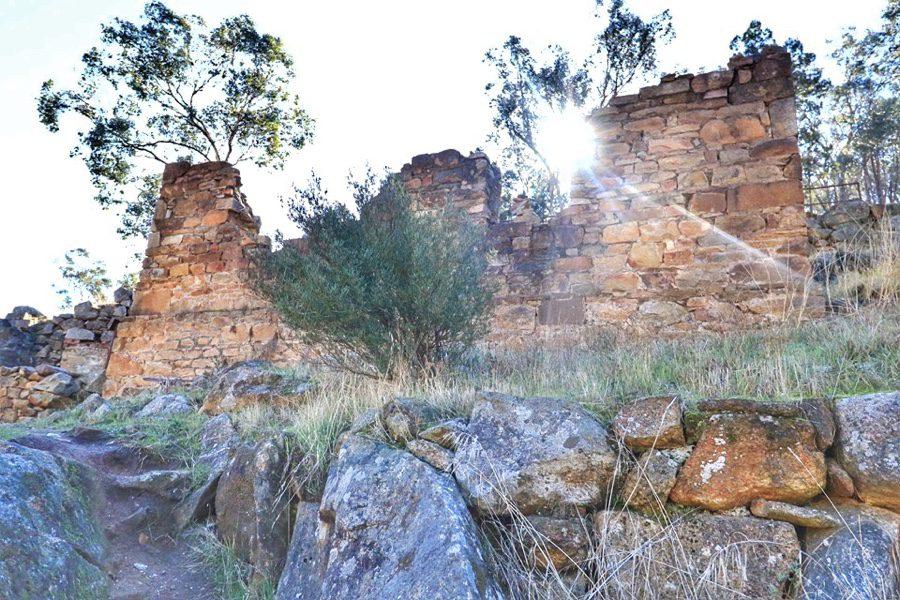 Adelong Gold Mill Ruins