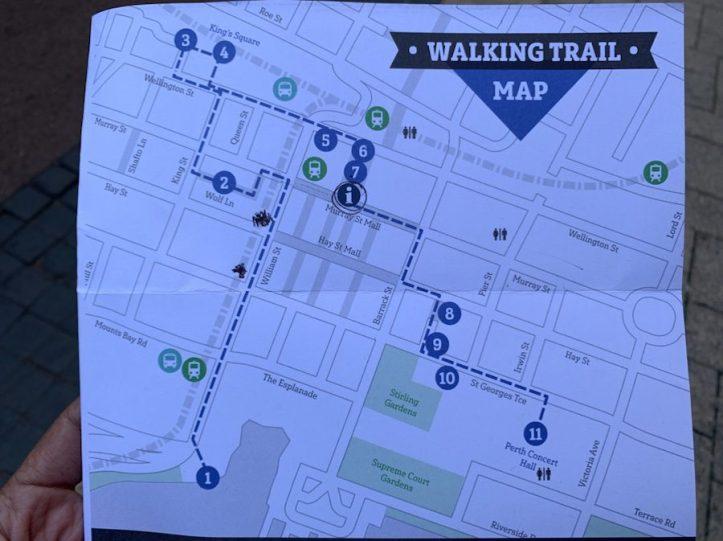 Art City Walking Trail | Map