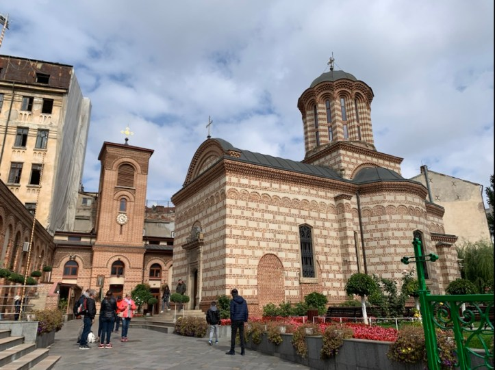Old Town walking tour in Bucharest