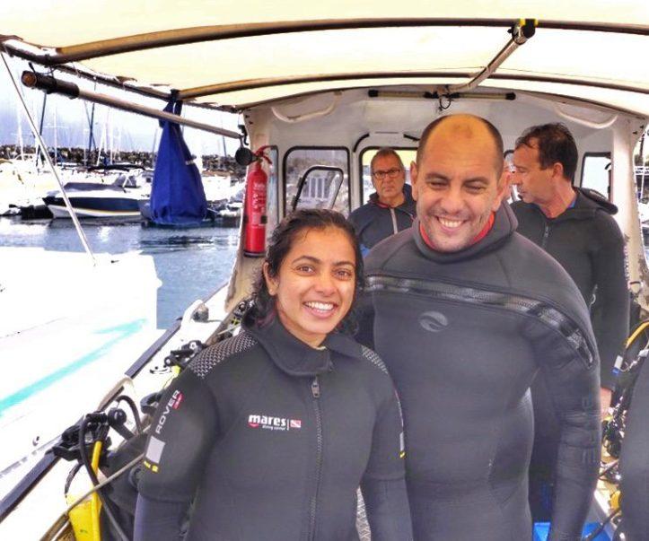 Scuba diving in Sesimbra (Portugal)